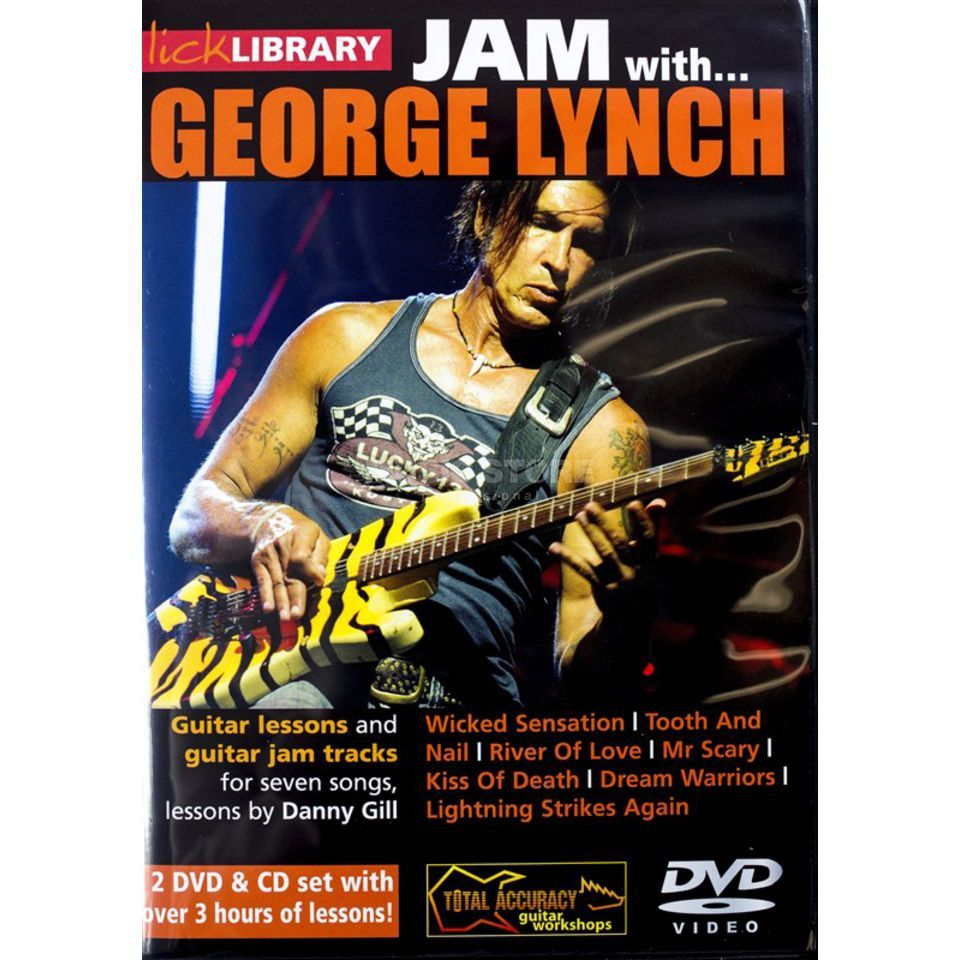 Roadrock International Lick Library: Jam With George Lynch DVD, CD Produktbillede