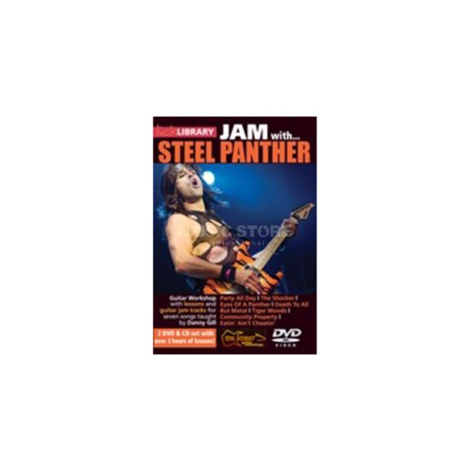 Roadrock International Lick Library: Jam With Steel Panther DVD, CD Produktbillede