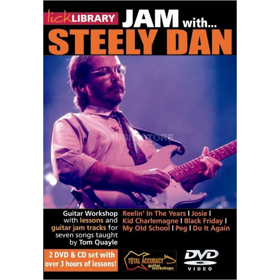Roadrock International Lick Library: Jam With Steely Dan DVD, CD Produktbild