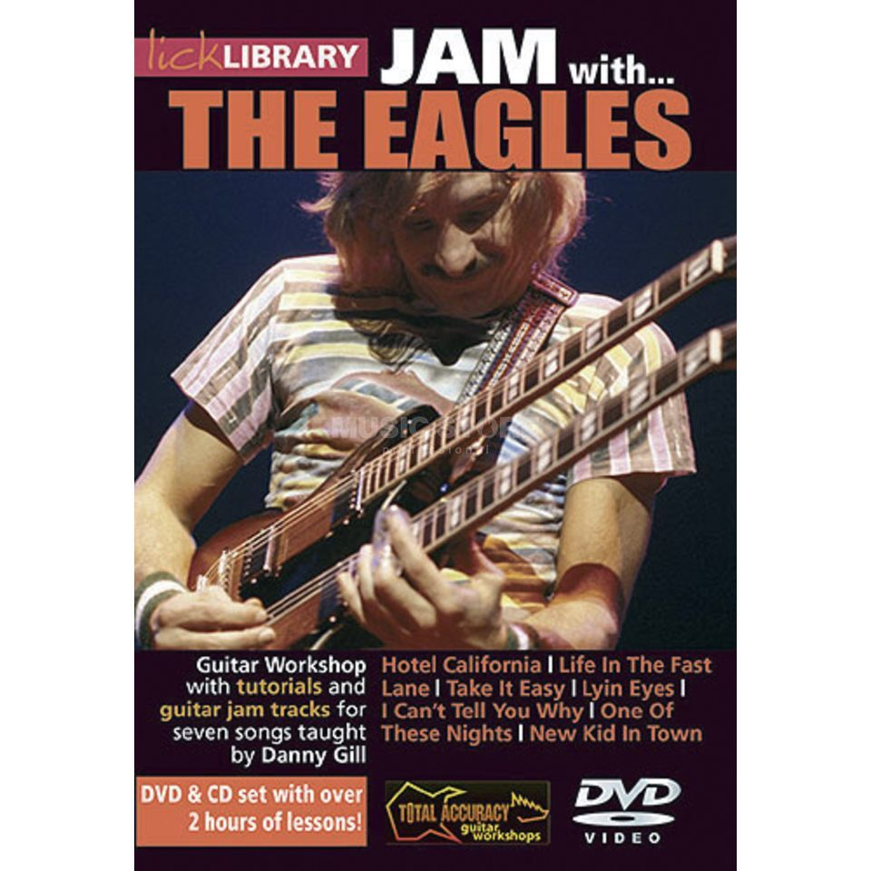 Roadrock International Lick Library: Jam With The Eagles DVD, CD Produktbillede