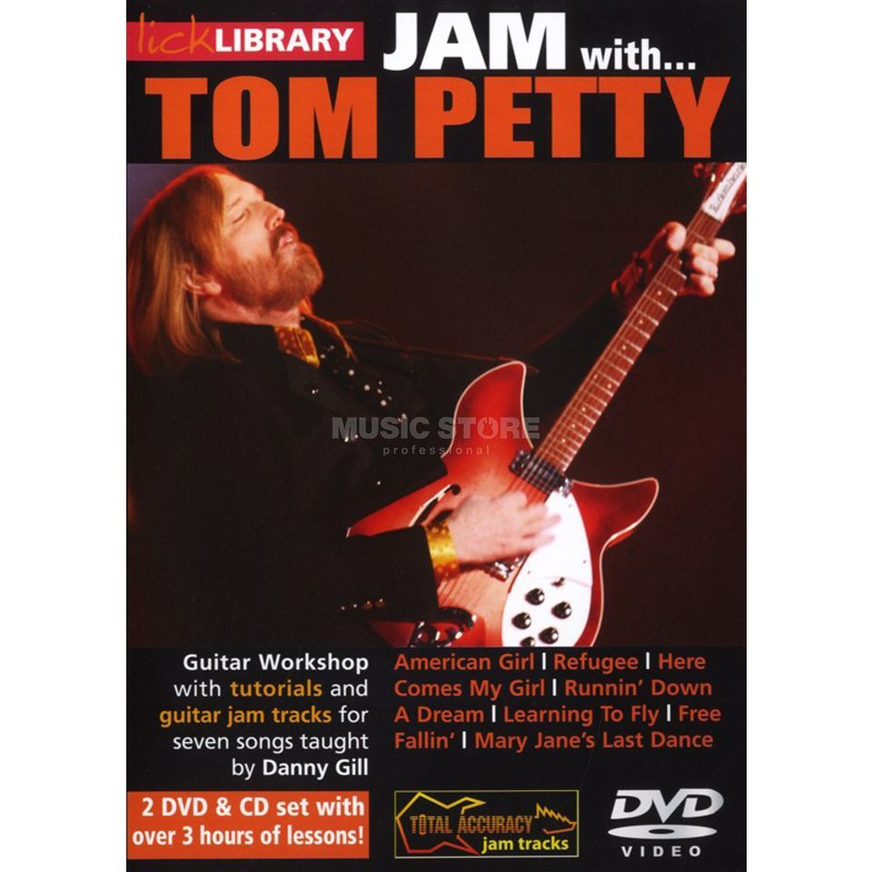 Roadrock International Lick Library: Jam With Tom Petty DVD, CD Produktbild