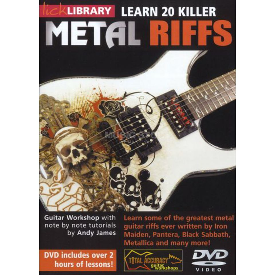 Roadrock International Lick Library: Learn 20 Killer Metal Licks - Volume 2 DVD Produktbild