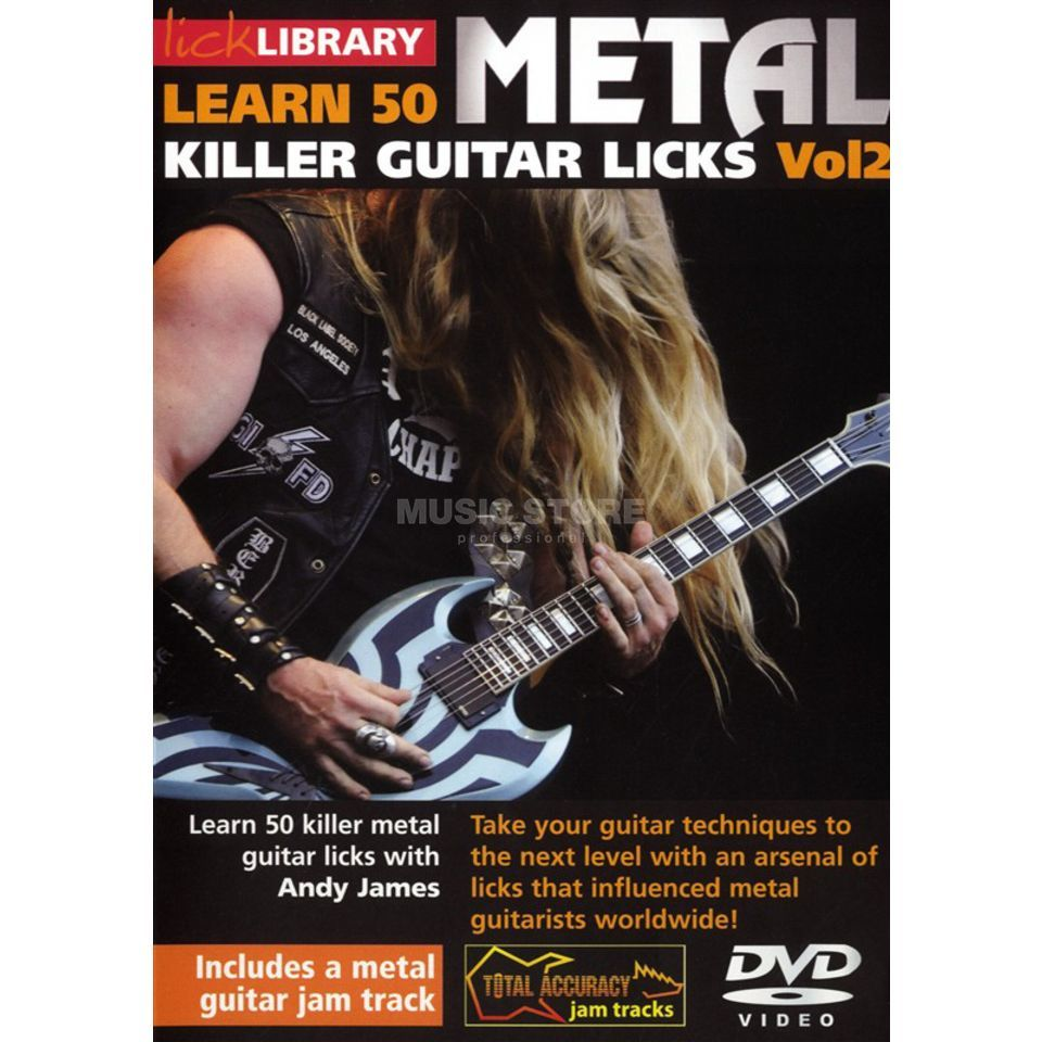 Roadrock International Lick Library: Learn 50 Killer Metal Licks 2 DVD Produktbild