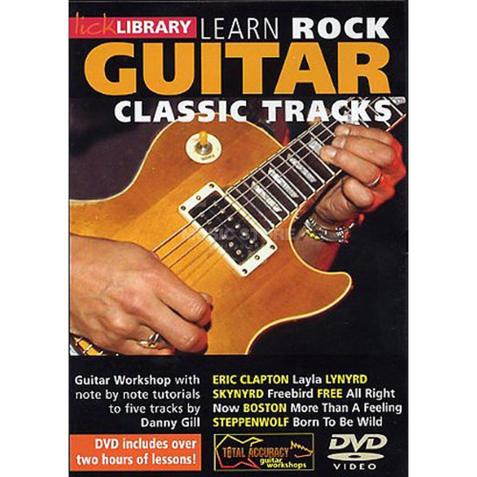 Roadrock International Lick Library: Learn Rock Guitar Classic Tracks DVD Produktbild