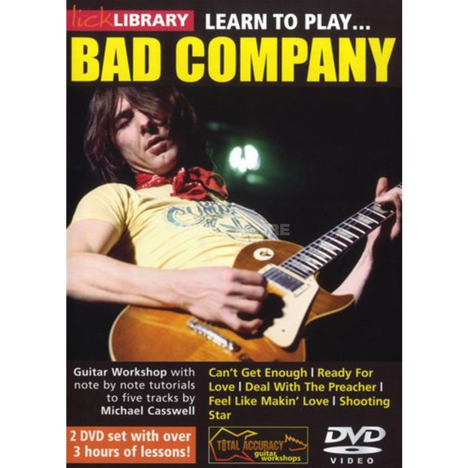 Roadrock International Lick Library: Learn To Play Bad Company DVD Produktbild