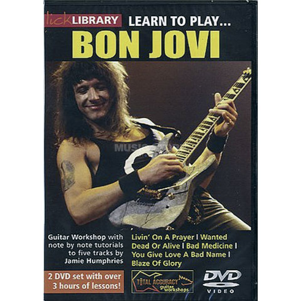 Roadrock International Lick Library: Learn To Play Bon Jovi DVD Produktbild