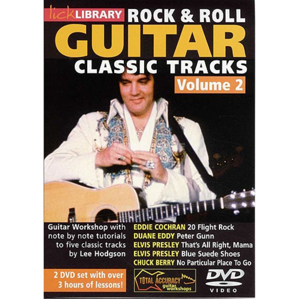 Roadrock International Lick Library: Learn To Play Classic Rock And Roll Tracks 2 DVD Produktbild