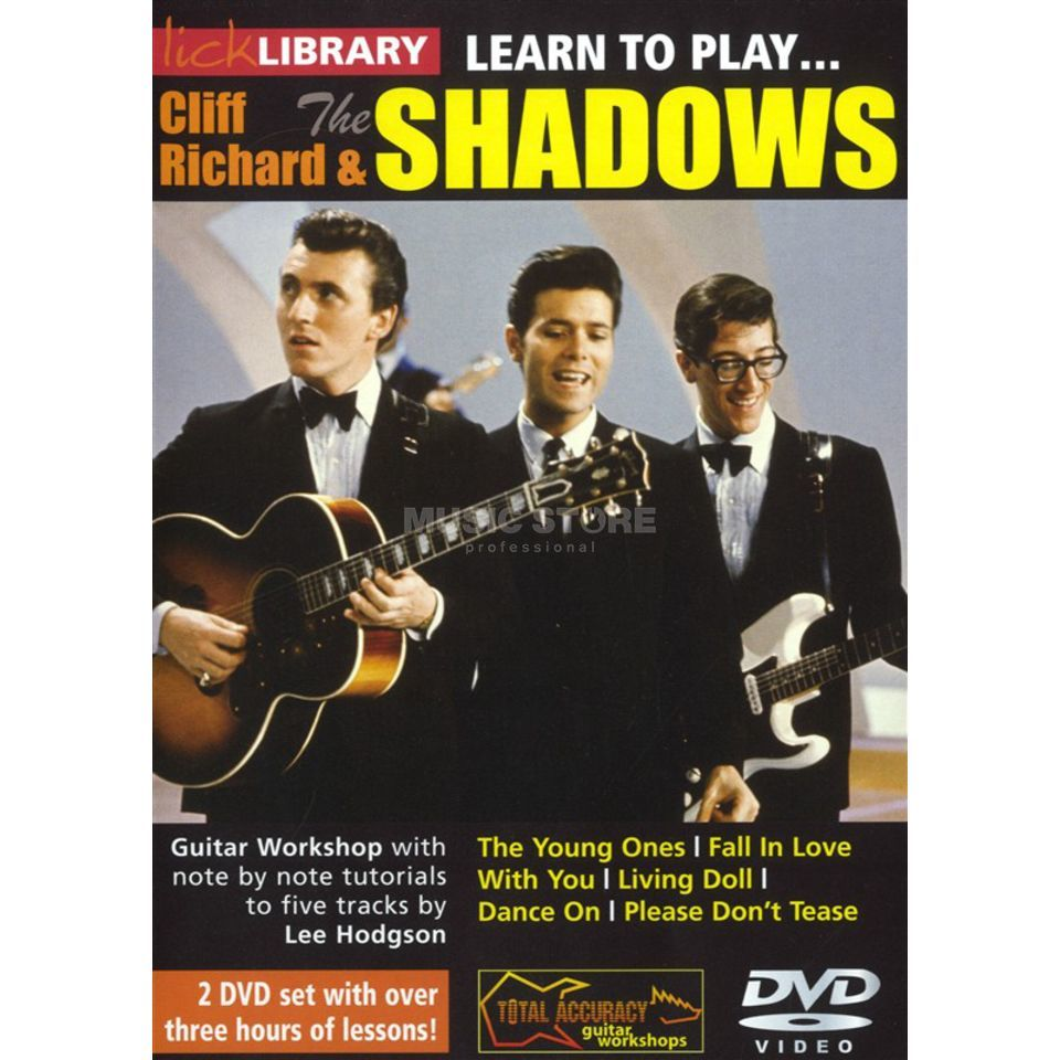 Roadrock International Lick Library: Learn To Play Cliff Richard And The Shadows DVD Produktbild