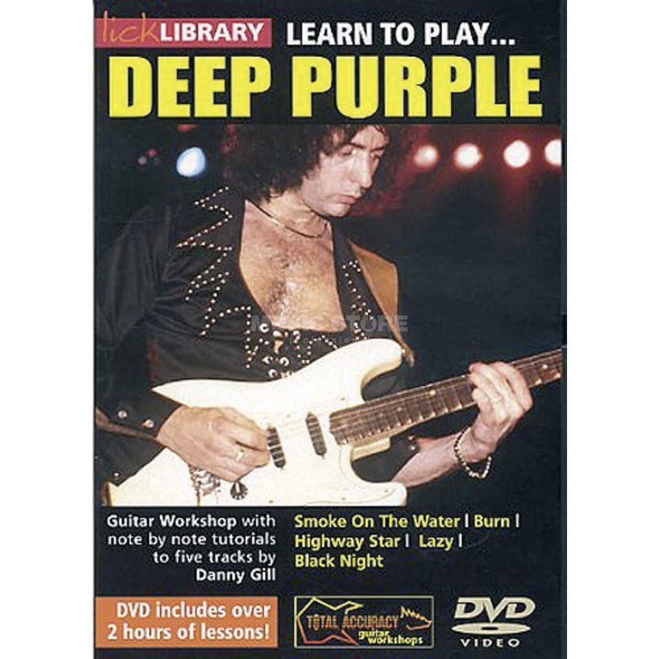 Roadrock International Lick Library: Learn To Play Deep Purple DVD Produktbild