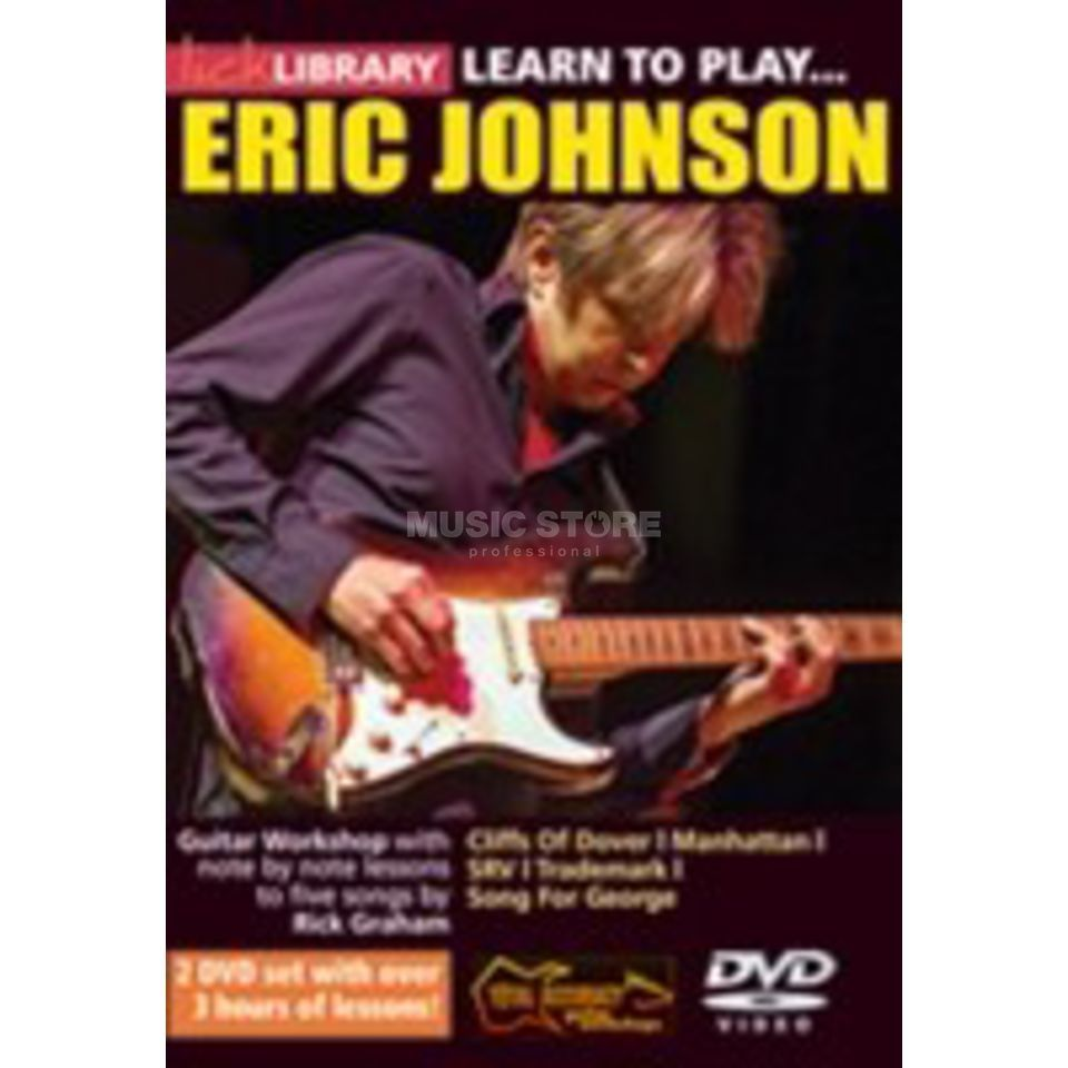 Roadrock International Lick Library: Learn To Play Eric Johnson DVD Produktbillede