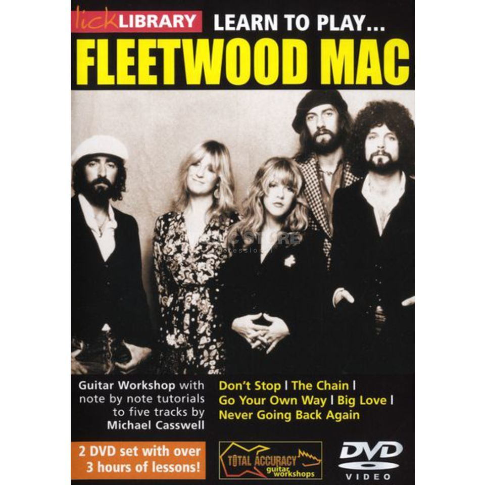 Roadrock International Lick Library: Learn To Play Fleetwood Mac DVD Produktbillede