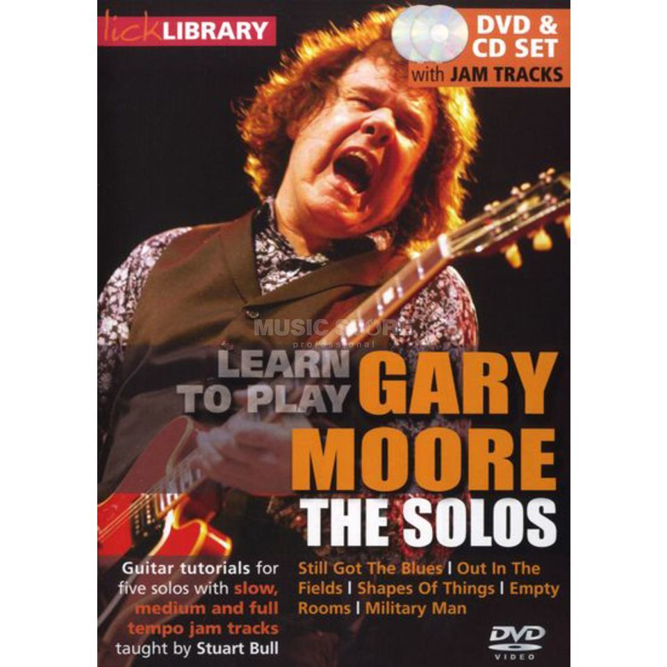 Roadrock International Lick Library: Learn To Play Gary Moore - The Solos DVD Produktbillede