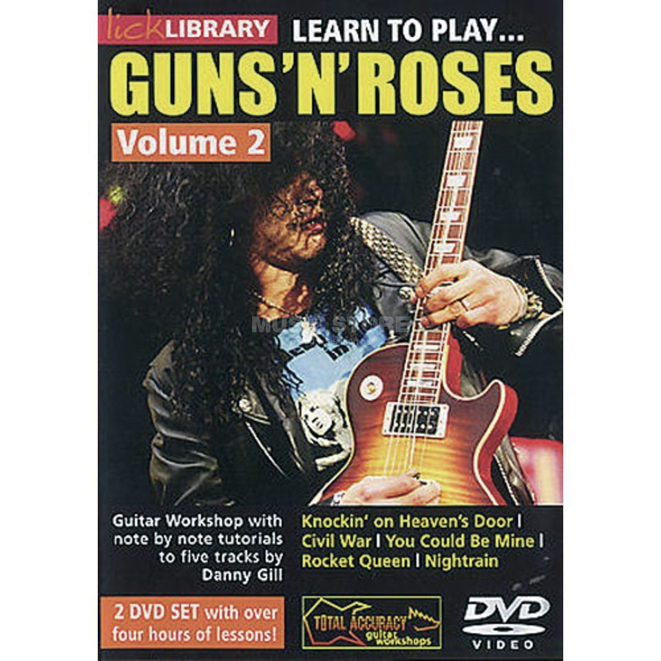 Roadrock International Lick Library: Learn To Play Guns 'N' Roses 2 Produktbillede