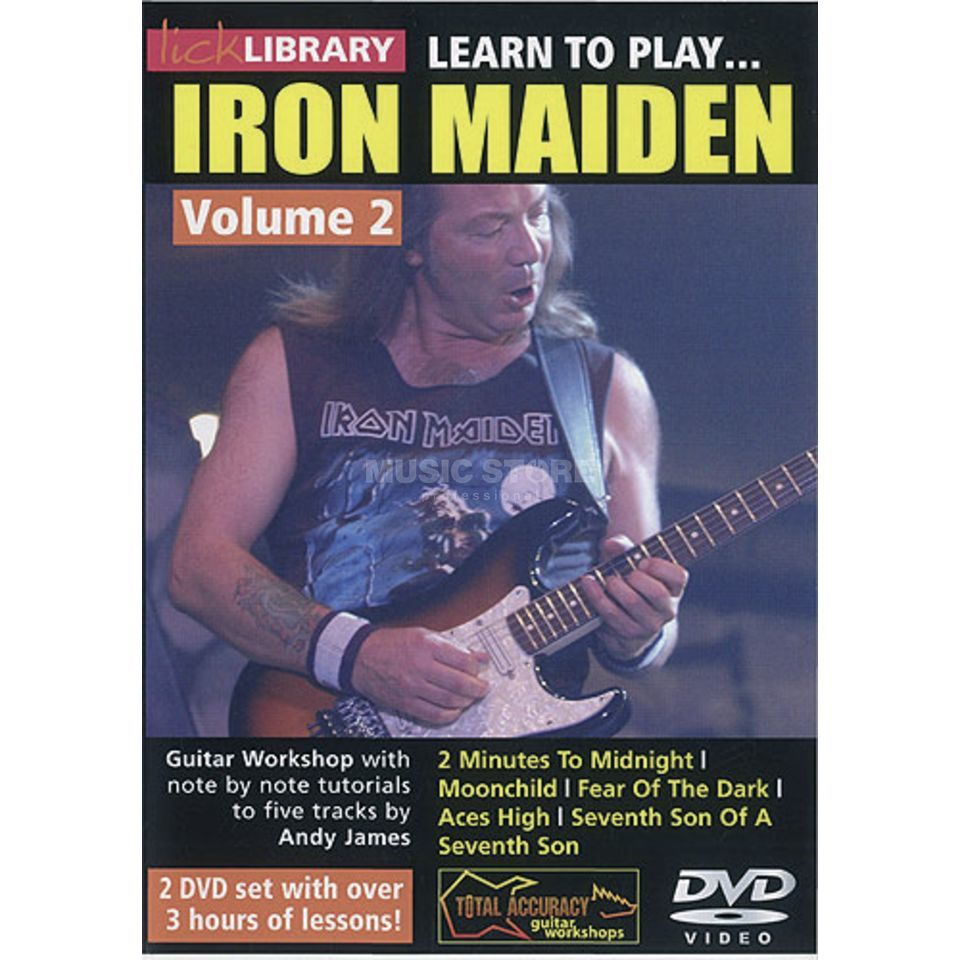 Roadrock International Lick Library: Learn To Play Iron Maiden 2 DVD Produktbild