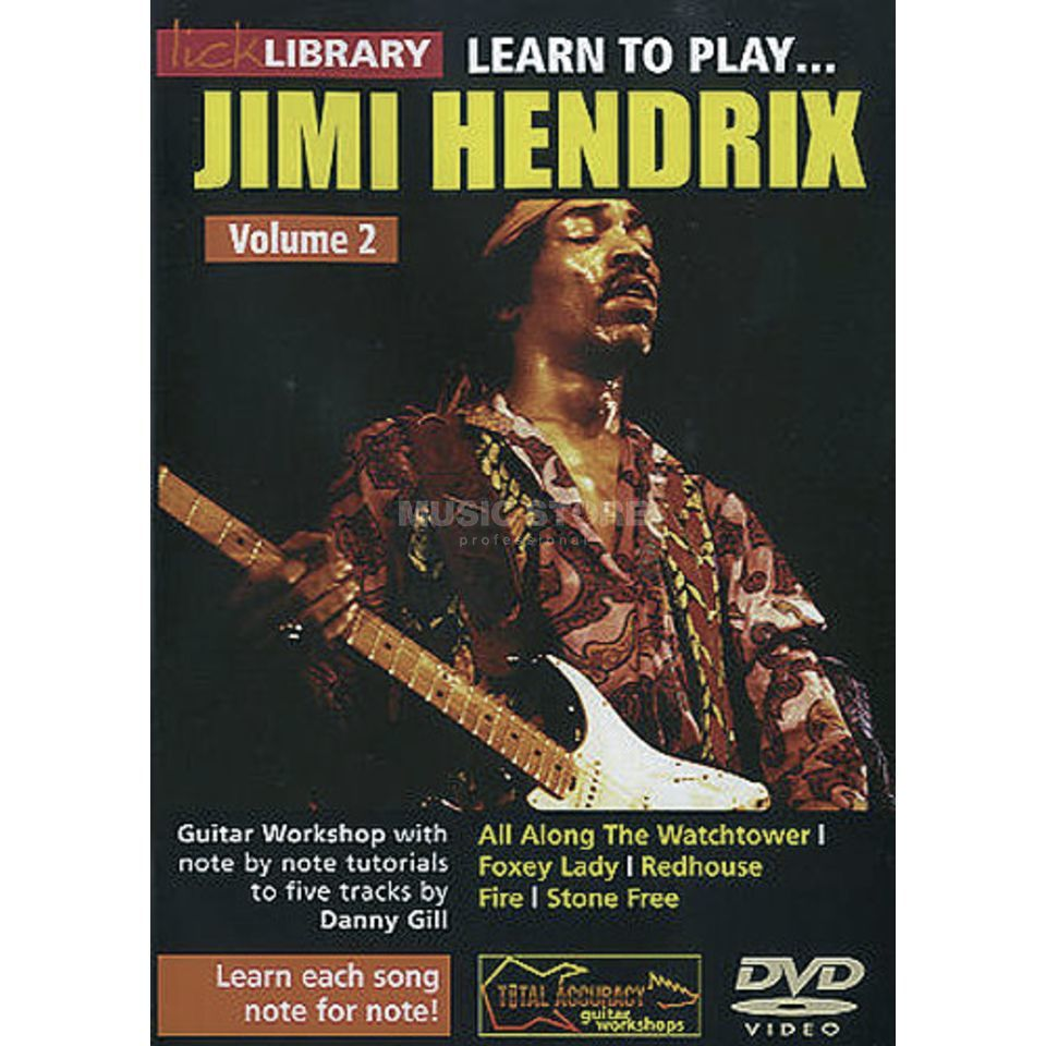 Roadrock International Lick Library: Learn To Play Jimi Hendrix 2 DVD Produktbild