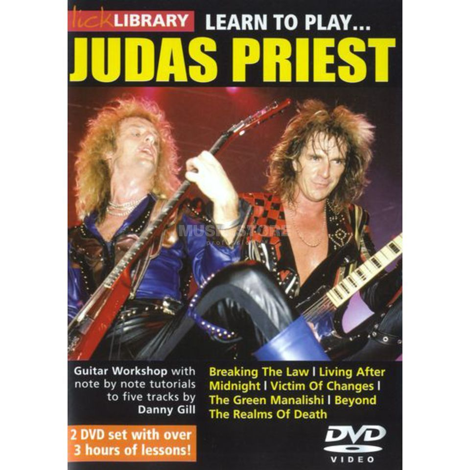 Roadrock International Lick Library: Learn To Play Judas Priest DVD Produktbillede