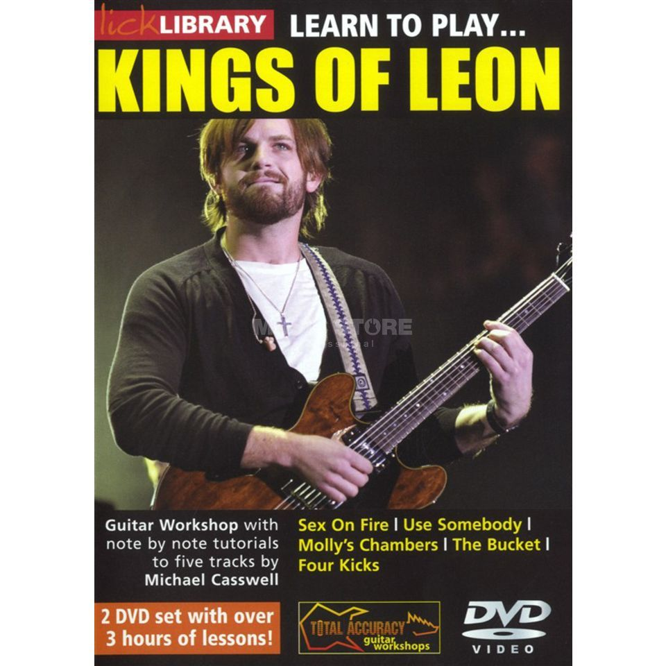 Roadrock International Lick Library: Learn To Play Kings of Leon DVD Produktbild