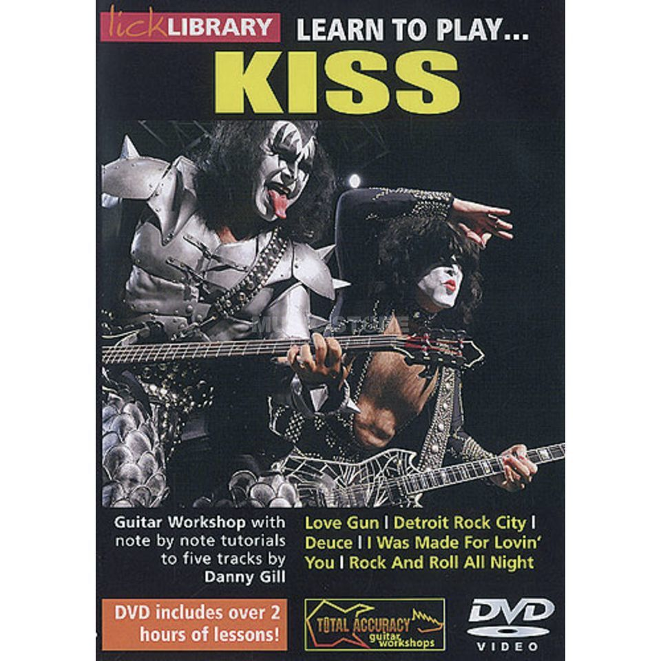 Roadrock International Lick Library: Learn To Play Kiss DVD Produktbillede