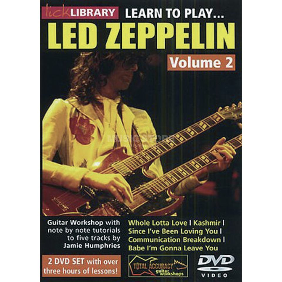 Roadrock International Lick Library: Learn To Play Led Zeppelin 2 DVD Produktbild