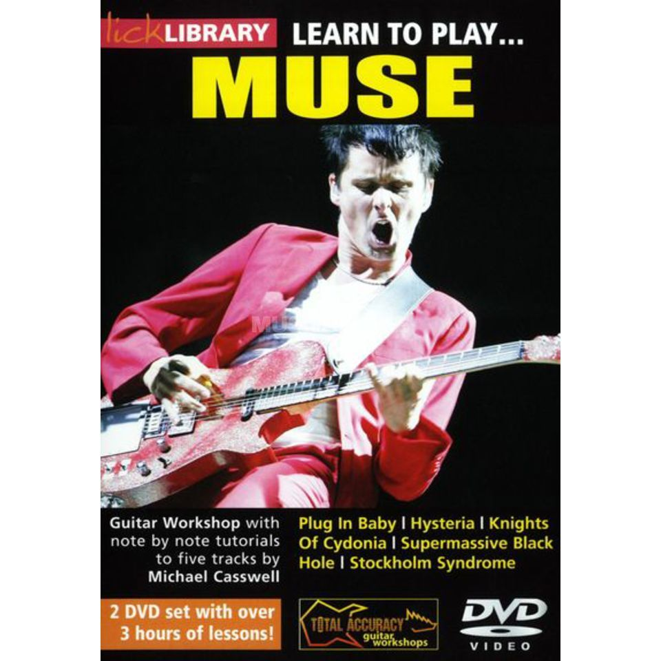 Roadrock International Lick Library: Learn To Play Muse DVD Produktbillede