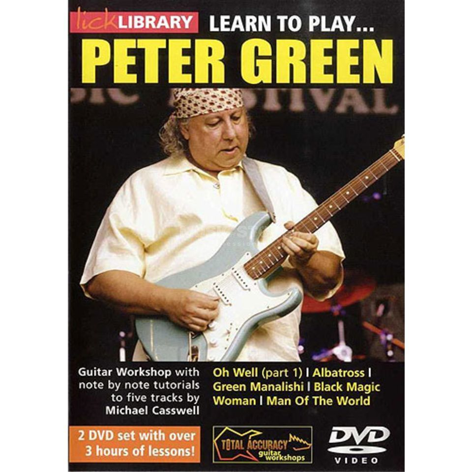Roadrock International Lick Library: Learn To Play Peter Green DVD Produktbild