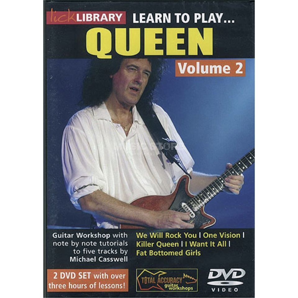 Roadrock International Lick Library: Learn To Play Queen 2 DVD Produktbillede