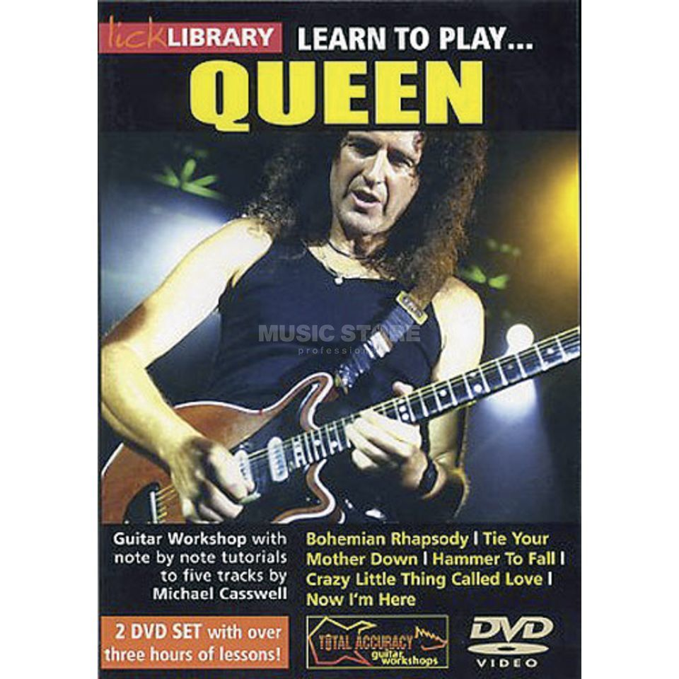 Roadrock International Lick Library: Learn To Play Queen DVD Produktbillede