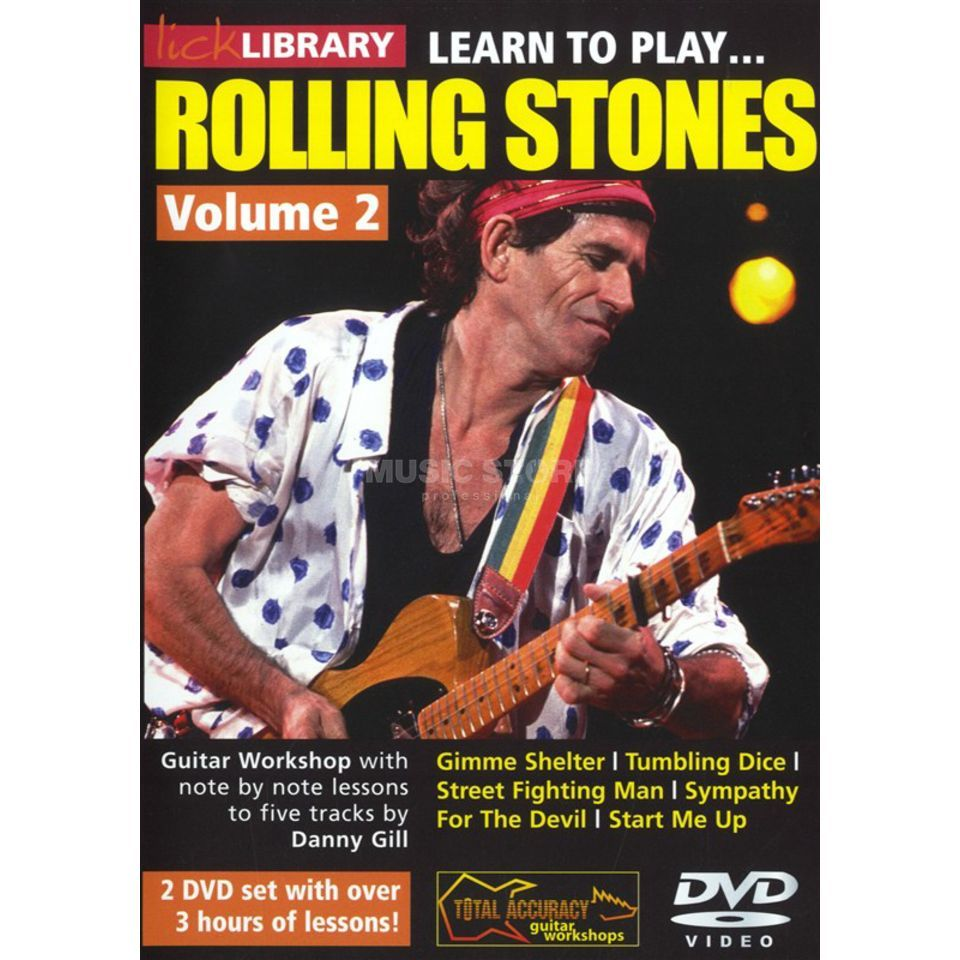 Roadrock International Lick Library: Learn To Play Rolling Stones 2 DVD Produktbild