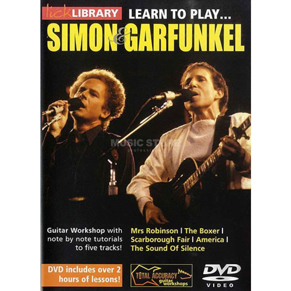 Roadrock International Lick Library: Learn To Play Simon And Garfunkel DVD Produktbild