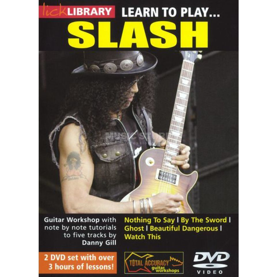 Roadrock International Lick Library: Learn to Play Slash DVD Produktbillede
