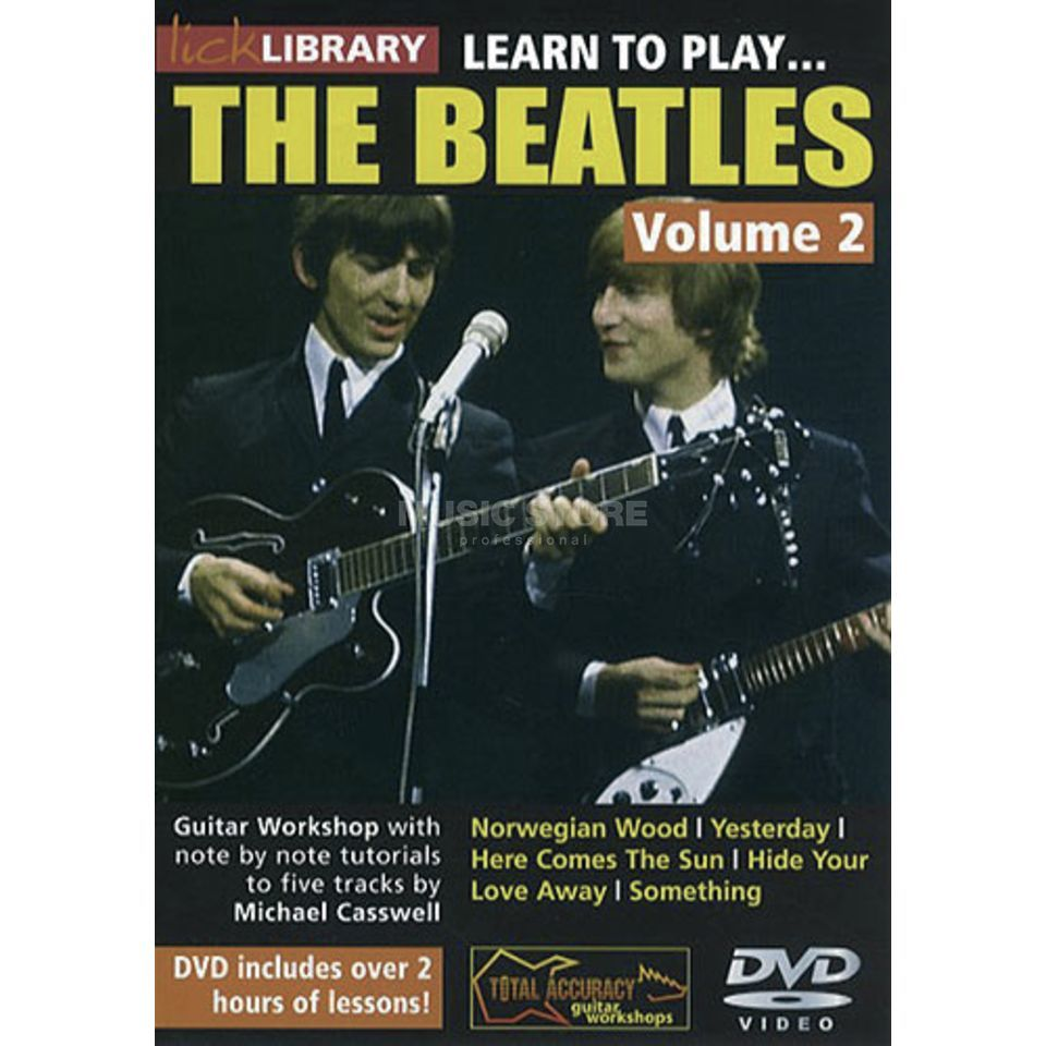 Roadrock International Lick Library: Learn To Play The Beatles 2 DVD Produktbild
