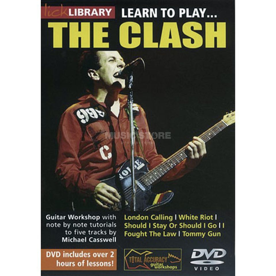 Roadrock International Lick Library: Learn To Play The Clash DVD Produktbild