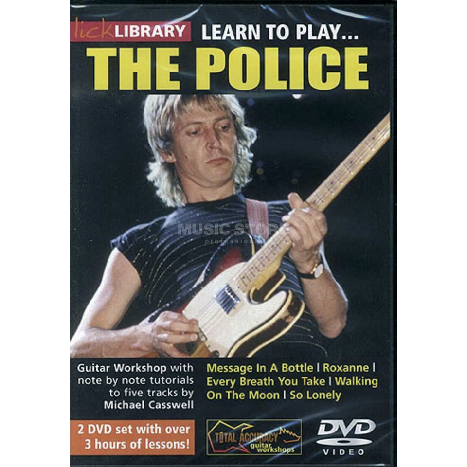 Roadrock International Lick Library: Learn To Play The Police DVD Produktbild