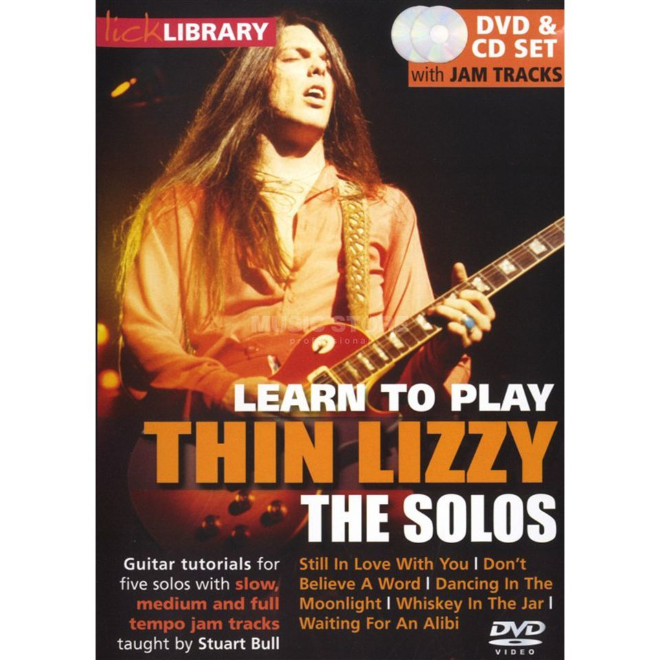 Roadrock International Lick Library: Learn To Play Thin Lizzy - The Solos DVD Produktbillede