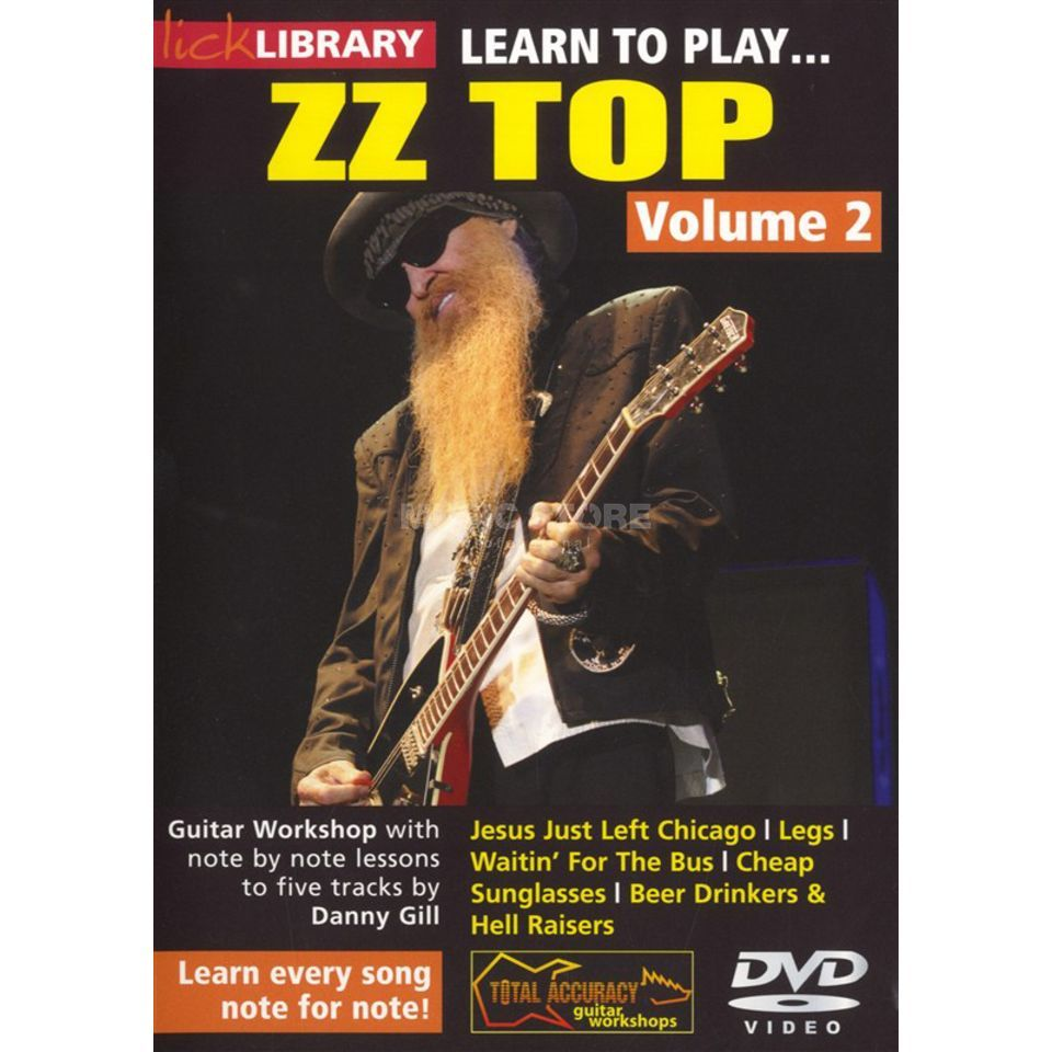 Roadrock International Lick Library: Learn To Play ZZ Top 2 Produktbild