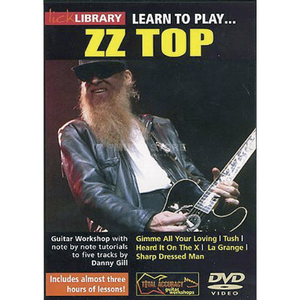 Roadrock International Lick Library: Learn To Play ZZ Top DVD Produktbild
