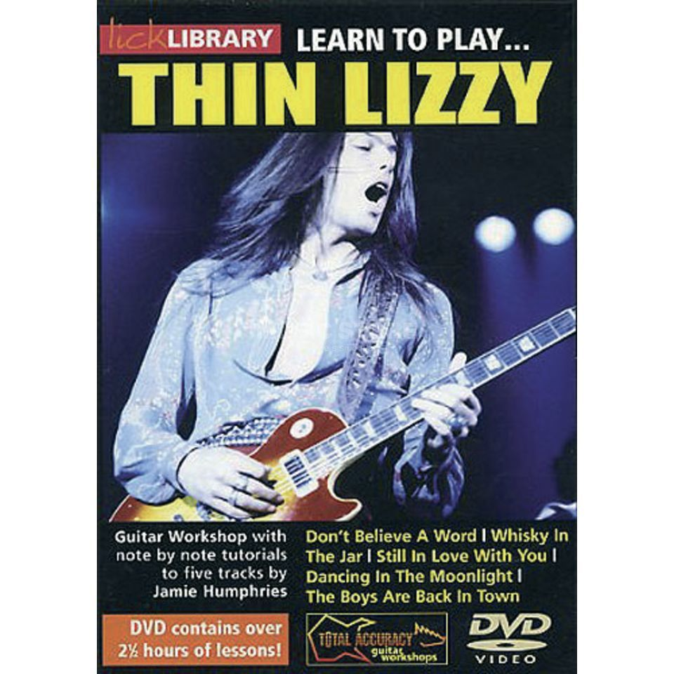 Roadrock International Lick library - Thin Lizzy Learn to play (Guitar), DVD Produktbillede