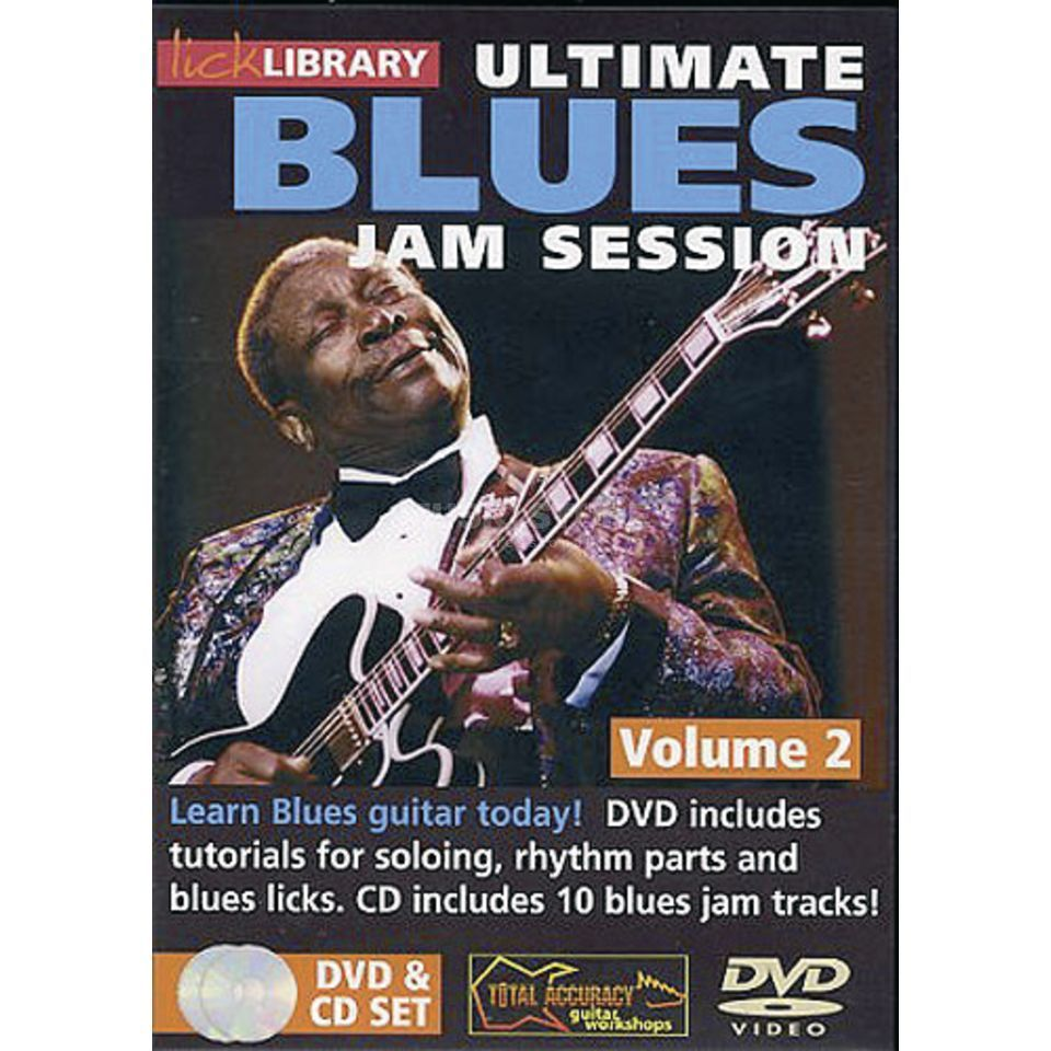 Roadrock International Lick Library: Ultimate Blues Jam Session 2 DVD/CD Produktbild