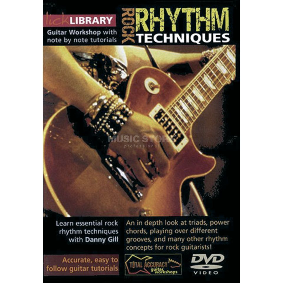 Roadrock International Rock Rhythm Techniques Learn to play (Guitar), DVD Produktbillede
