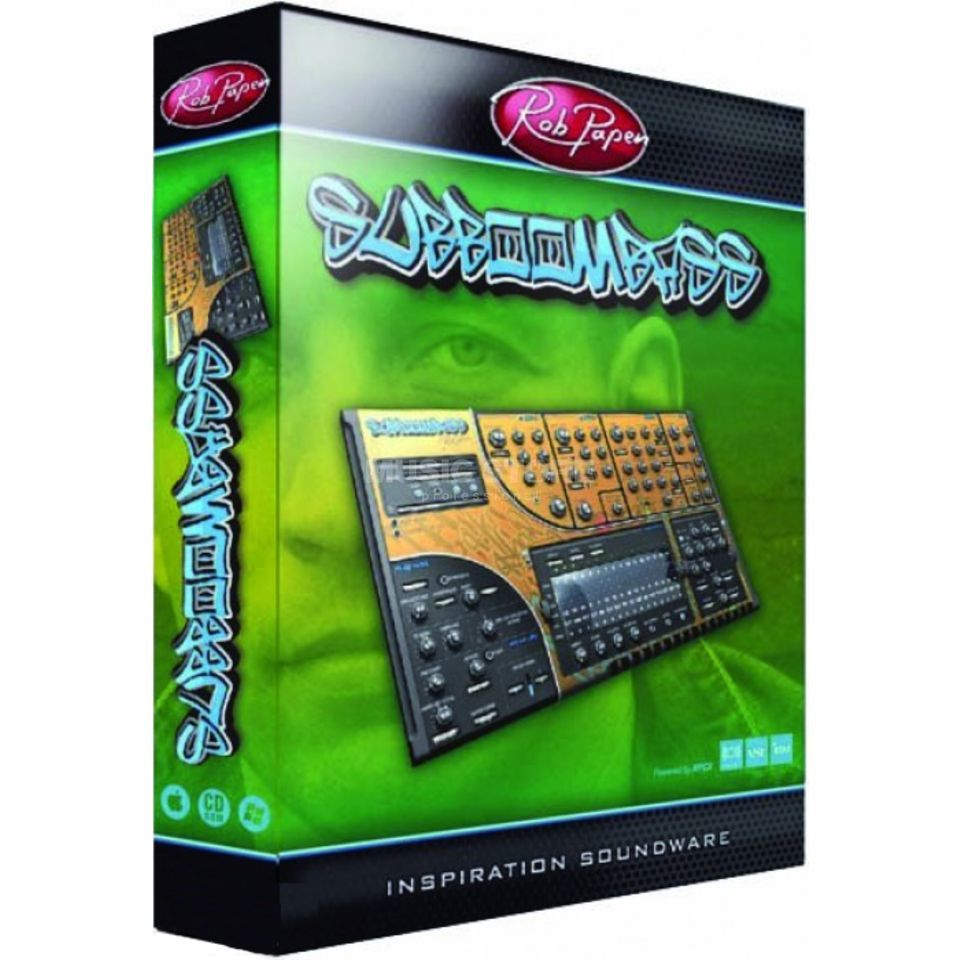 Rob Papen SubBoomBass 1-CD - PC/MAC - VST/AU Produktbillede