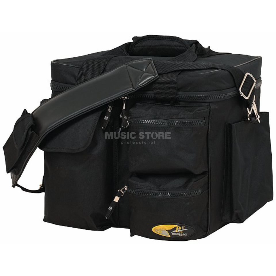 Rockbag DJ Nylon Record Bag RB 27150 B for 80 LPs, black Zdjęcie produktu