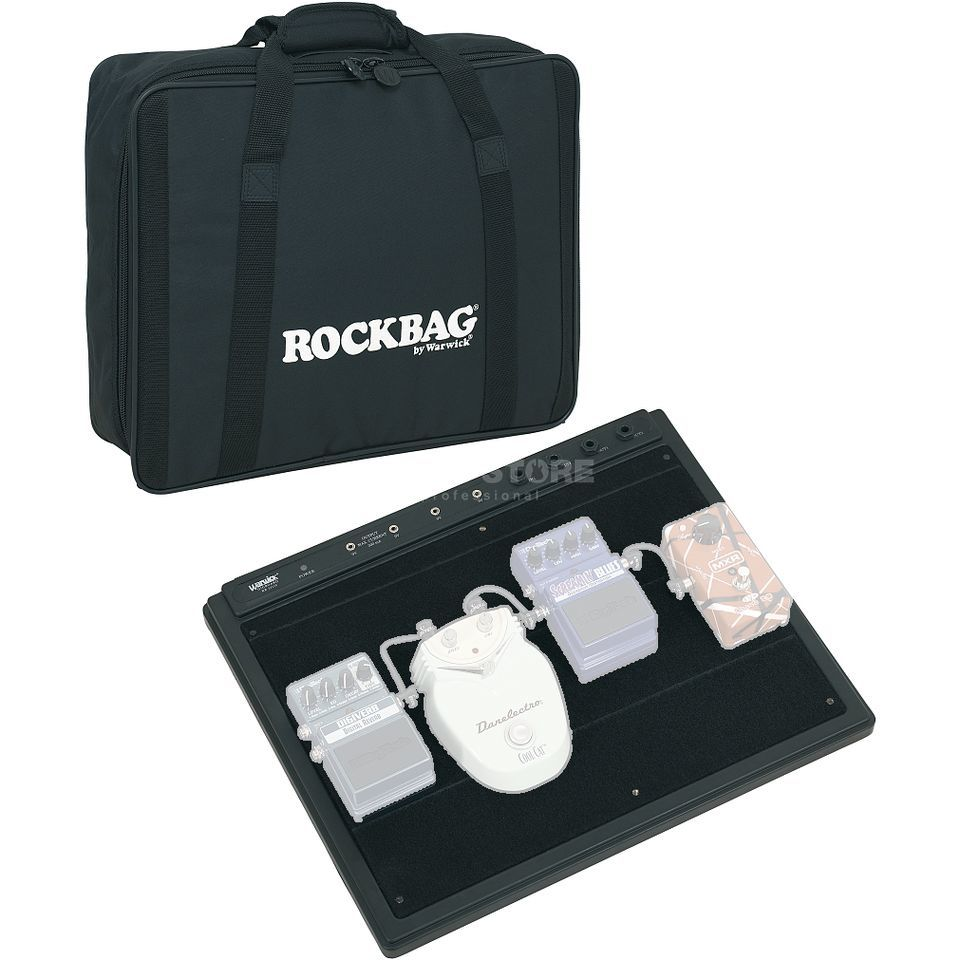 Rockbag RB 23110 Pedalboard inkl.Power Supply, Bag Produktbild
