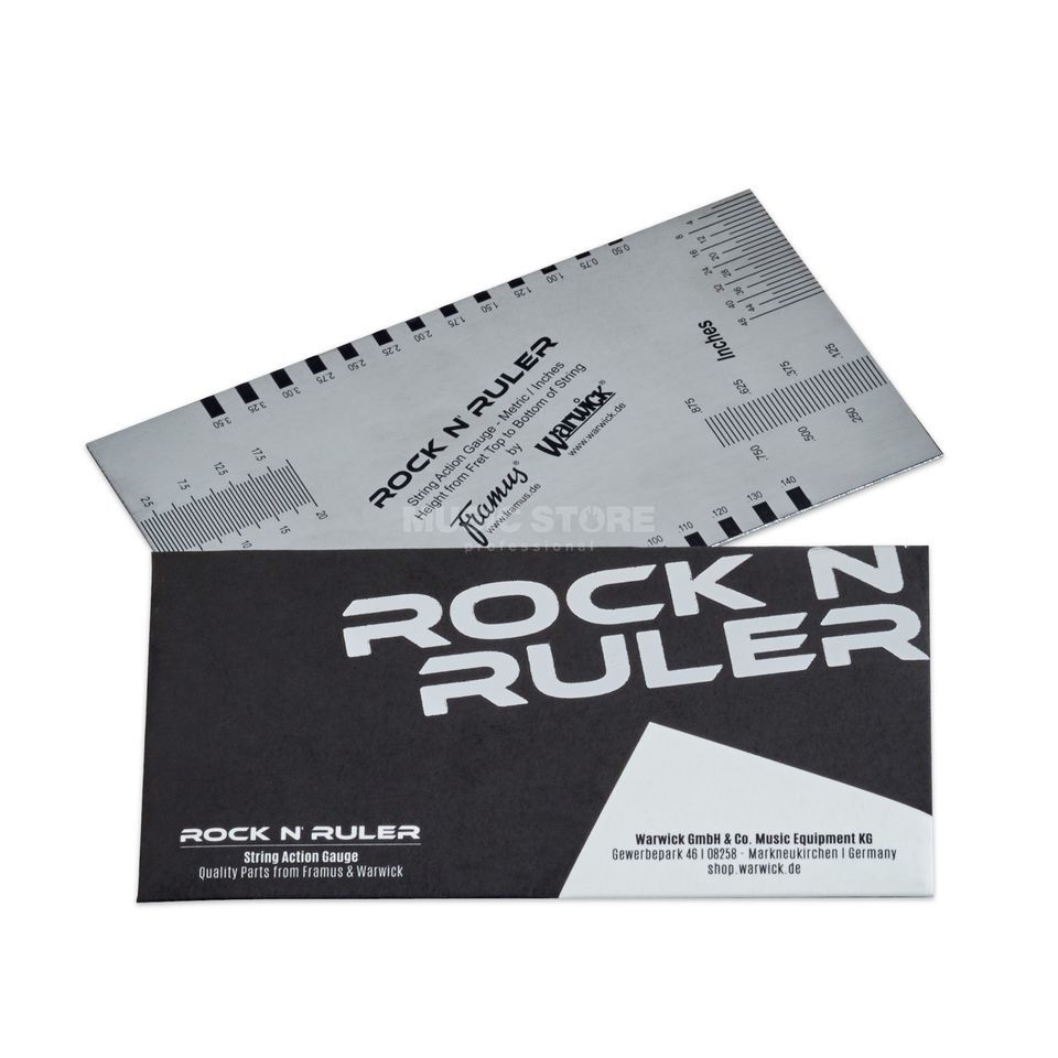 Rockbag Rock'n'Ruler String Action Gauge Produktbild