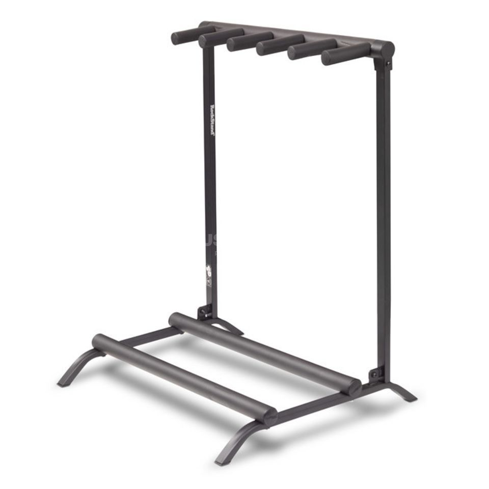Rockstand 5er e guit bass multi stand flat pack for Stand pack