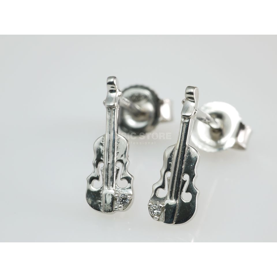Rockys Earrings Violin Silber 925, zirconia Produktbillede
