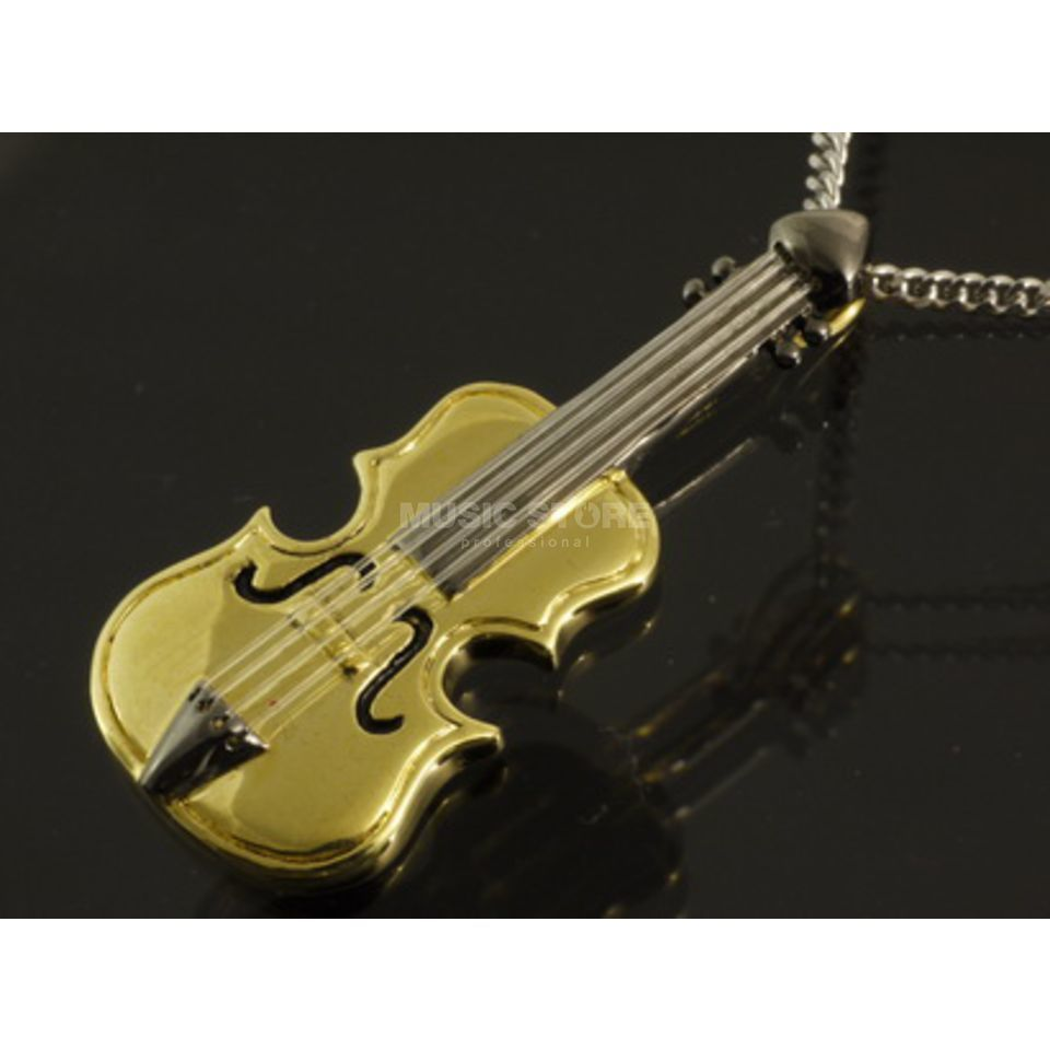 Rockys Pendant Cello gold plated Produktbillede