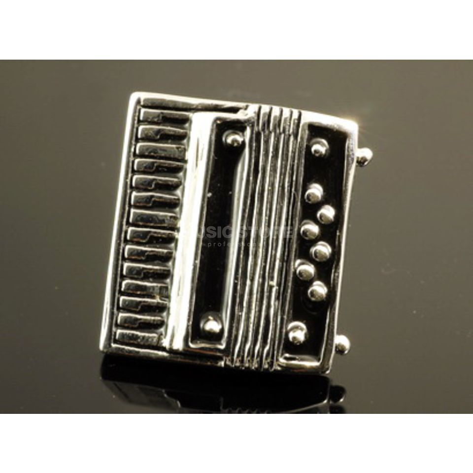 Rockys Pin Accordion silver plated Produktbillede