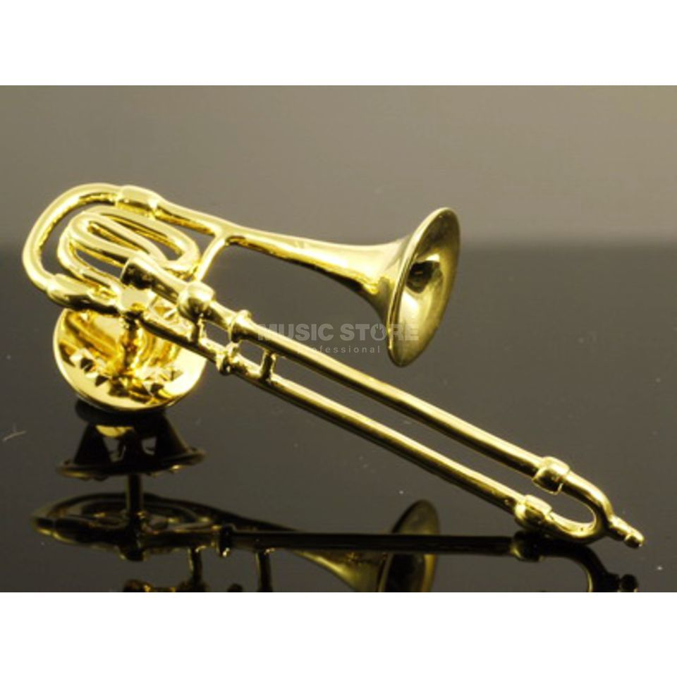 Rockys Pin Trombone gold plated Product Image