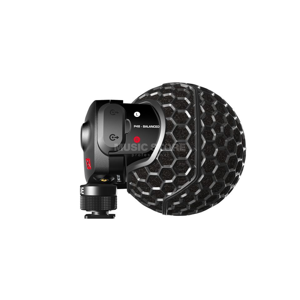 Rode Stereo VideoMic x - SVMx - Hi-End Camera Microphone Produktbillede