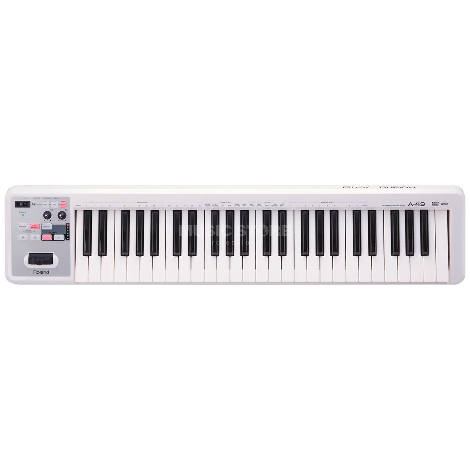 Roland A-49 WH MIDI Keyboard Controller Produktbild